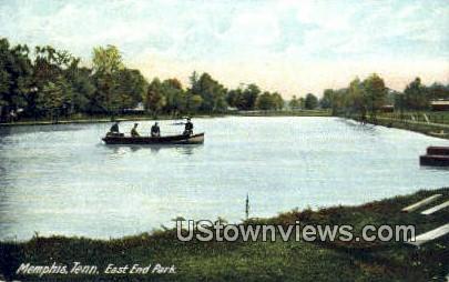 East End Park - Memphis, Tennessee TN Postcard