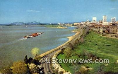 Riverside Drive - Memphis, Tennessee TN Postcard