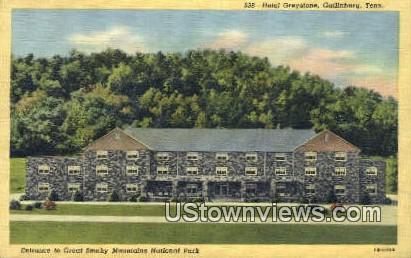 Hotel Greystone - Gatlinburg, Tennessee TN Postcard