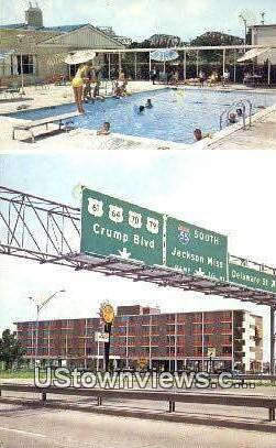 Quality Courts Motel - Memphis, Tennessee TN Postcard