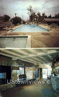 Country Square Motel - Knoxville, Tennessee TN Postcard