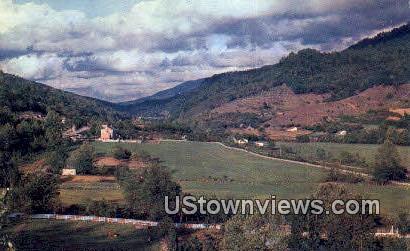 Fertile Valleys - Misc, Tennessee TN Postcard