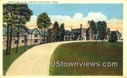 Fairyland Club  - Lookout Mountain, Tennessee TN Postcard