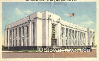 United States Post Office - Knoxville, Tennessee TN Postcard