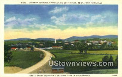 Great Smoky Mountains National Park - Knoxville, Tennessee TN Postcard