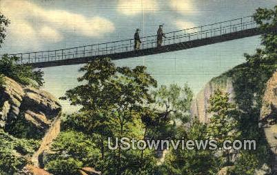 Sky Ridge In Rock City Gardens  - Lookout Mountain, Tennessee TN Postcard