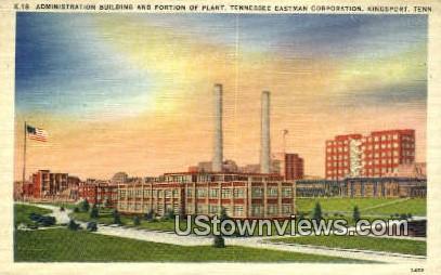 Plant Tennessee Eastman Corporation  - Kingsport Postcard