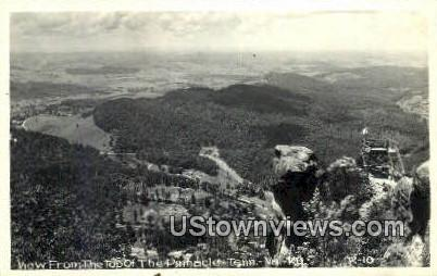 Real Photo - Pinnacle Point  - Misc, Tennessee TN Postcard