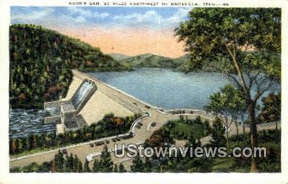 Norris Dam  - Knoxville, Tennessee TN Postcard