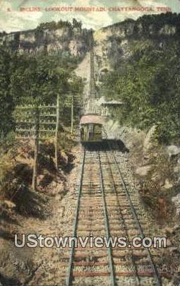 Incline lookout Mountain - Chattanooga, Tennessee TN Postcard