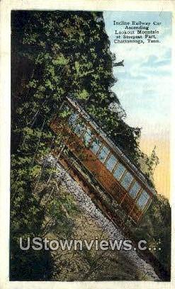 Incline Railway Car Lookout Mountain  - Chattanooga, Tennessee TN Postcard