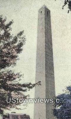 Bunker Hill Monument  - Tennessee TN Postcard