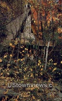 Autumn Chalet Village  - Gatlinburg, Tennessee TN Postcard