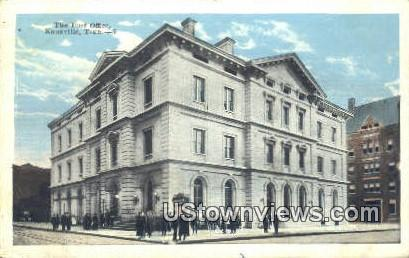 Post Office - Knoxville, Tennessee TN Postcard