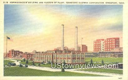 Admin Bldg, Tennessee Eastman Corp - Kingsport Postcard