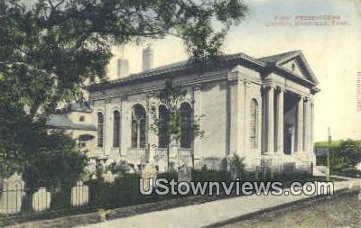 First Presbyterian Church - Knoxville, Tennessee TN Postcard