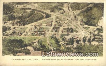 Pinnacle - Cumberland Gap, Tennessee TN Postcard