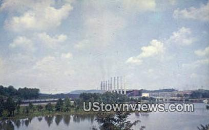 Kingston Steam Plant - Tennessee TN Postcard