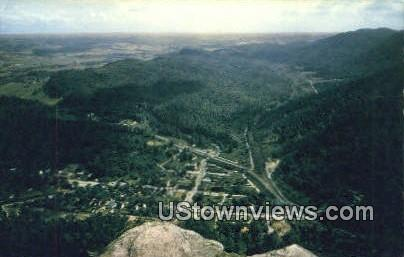 The Pinnacles - Cumberland Gap, Tennessee TN Postcard