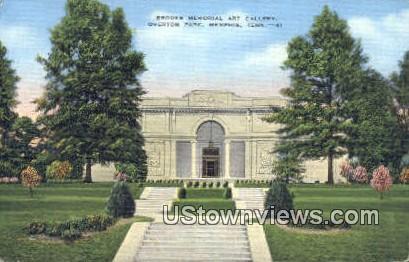 Brook's Memorial Art Gallery - Memphis, Tennessee TN Postcard