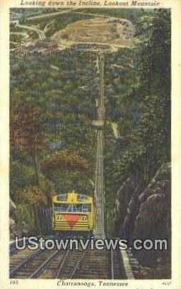 Incline, Lookout Mountain - Chattanooga, Tennessee TN Postcard