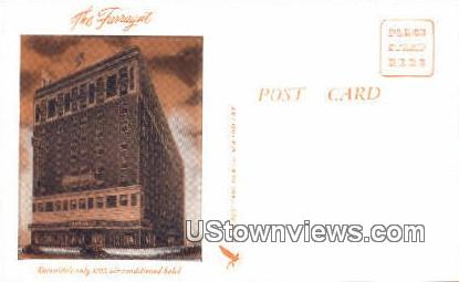 The Farragut - Knoxville, Tennessee TN Postcard