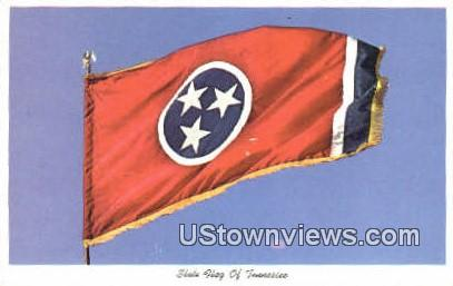 State Flag - Misc, Tennessee TN Postcard