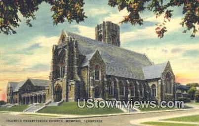 Idlewild Presbyterian Church - Memphis, Tennessee TN Postcard