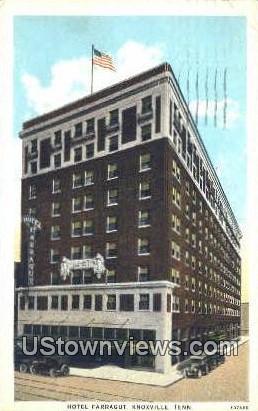 Hotel Farragut - Knoxville, Tennessee TN Postcard