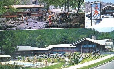 Brookside Motel - Gatlinburg, Tennessee TN Postcard