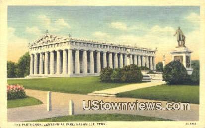 The Parthenon - Nashville, Tennessee TN Postcard