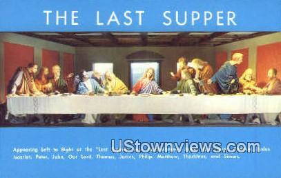 The Last Supper - Gatlinburg, Tennessee TN Postcard