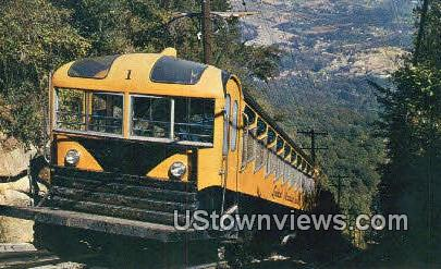Incline Car & Station - Lookout Mountain, Tennessee TN Postcard