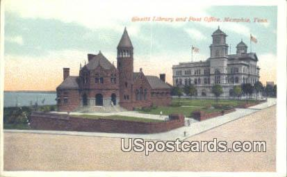 Cossitt Library & Post Office - Memphis, Tennessee TN Postcard