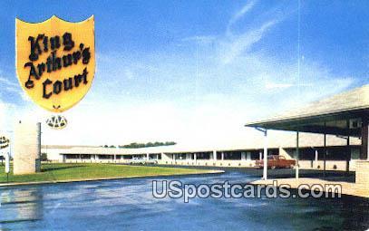 King Arthur's Court - Greeneville, Tennessee TN Postcard