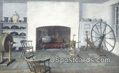Kitchen, Hermitage - Nashville, Tennessee TN Postcard