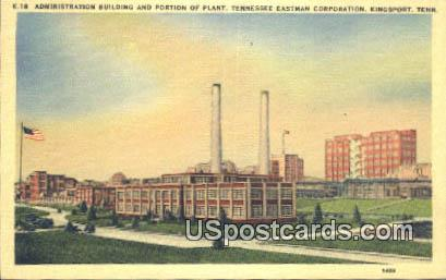 Administration Building - Kingsport, Tennessee TN Postcard