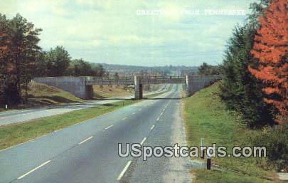 Super Highway - Misc, Tennessee TN Postcard