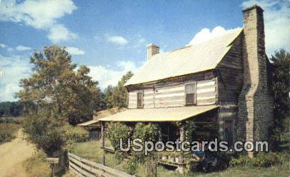 Mountain Cabins - Misc, Tennessee TN Postcard