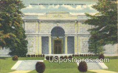 Brooks Memorial Art Gallery - Memphis, Tennessee TN Postcard