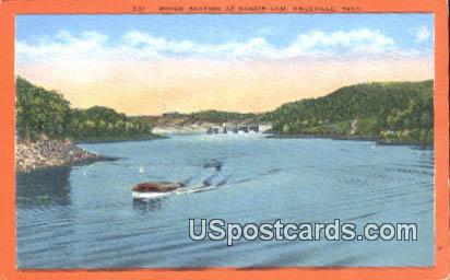 Motor Boats - Knoxville, Tennessee TN Postcard