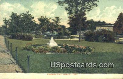 Lancaster Park - Jackson, Tennessee TN Postcard