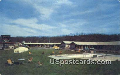 Holiday Motel - Knoxville, Tennessee TN Postcard