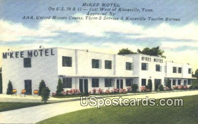 McKee Motel - Knoxville, Tennessee TN Postcard