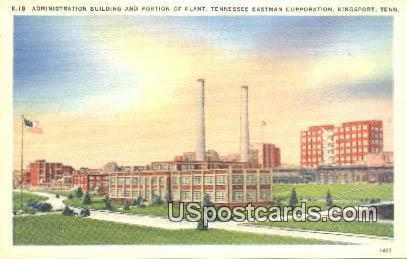 Tennessee Eastman Corporation - Kingsport Postcard