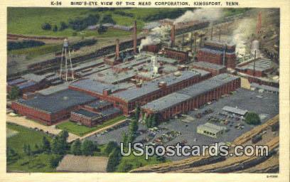 Mead Corporation - Kingsport, Tennessee TN Postcard