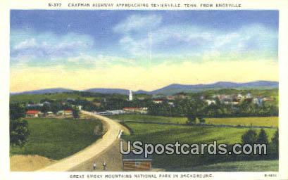 Chapman Highway - Knoxville, Tennessee TN Postcard