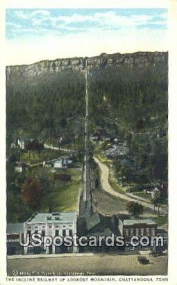 Incline Railway, Lookout Mountain - Chattanooga, Tennessee TN Postcard