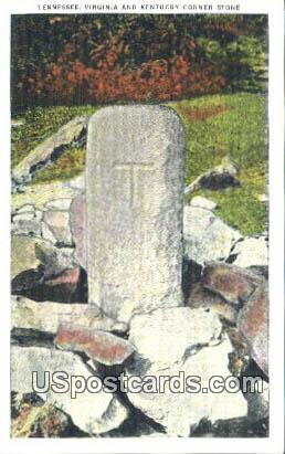 Corner Stone - Misc, Tennessee TN Postcard