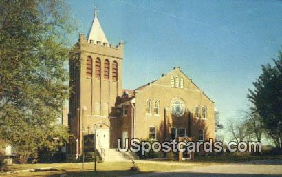 Connell Memorial Methodist Church - Goolettsville, Tennessee TN Postcard